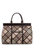 Коричневая дорожная сумка S.Lavia в категории Женское/Сумки дорожные женские. Вид 1