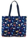 Синий шоппер S.Lavia в категории Женское/Сумки женские/Женские летние сумки. Вид 4