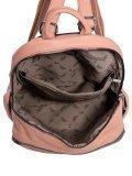 Розовый рюкзак Fabbiano. Вид 5 миниатюра.