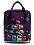 Фиолетовый рюкзак Angelo Bianco в категории Детское/Школьные рюкзаки/Школьные рюкзаки для подростков. Вид 1