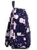 Синий рюкзак Angelo Bianco в категории Детское/Школьные рюкзаки/Школьные рюкзаки для подростков. Вид 3