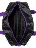 Фиолетовая дорожная сумка Across. Вид 5 миниатюра.