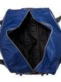 Синий чемодан Lbags. Вид 6 миниатюра.