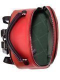 Красный рюкзак David Jones. Вид 5 миниатюра.