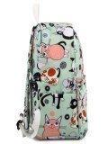Мятный рюкзак Angelo Bianco в категории Детское/Школьные рюкзаки/Школьные рюкзаки для подростков. Вид 3