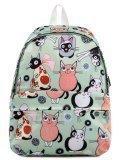 Мятный рюкзак Angelo Bianco в категории Детское/Школьные рюкзаки/Школьные рюкзаки для подростков. Вид 1