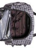 Серый чемодан Lbags. Вид 6 миниатюра.