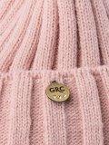 Бледно-розовая шапка Gracia в категории Женское/Аксессуары женские/Головные уборы женские. Вид 3