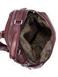 Бордовый рюкзак Fabbiano. Вид 5 миниатюра.