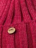 Брусничная шапка Gracia в категории Женское/Аксессуары женские/Головные уборы женские. Вид 3