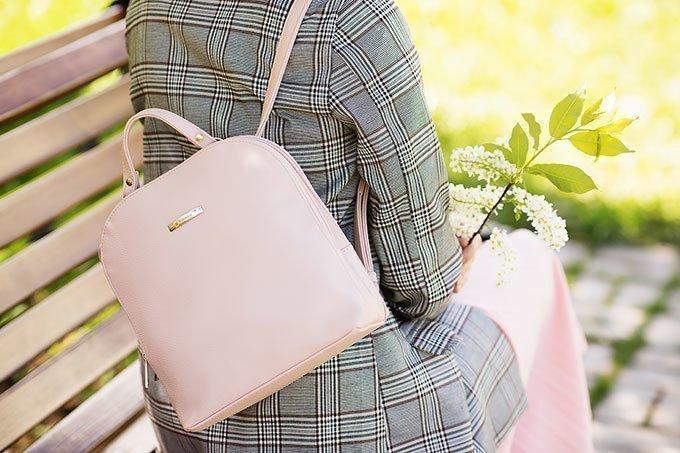 Розовый рюкзак-трансформер S.lavia