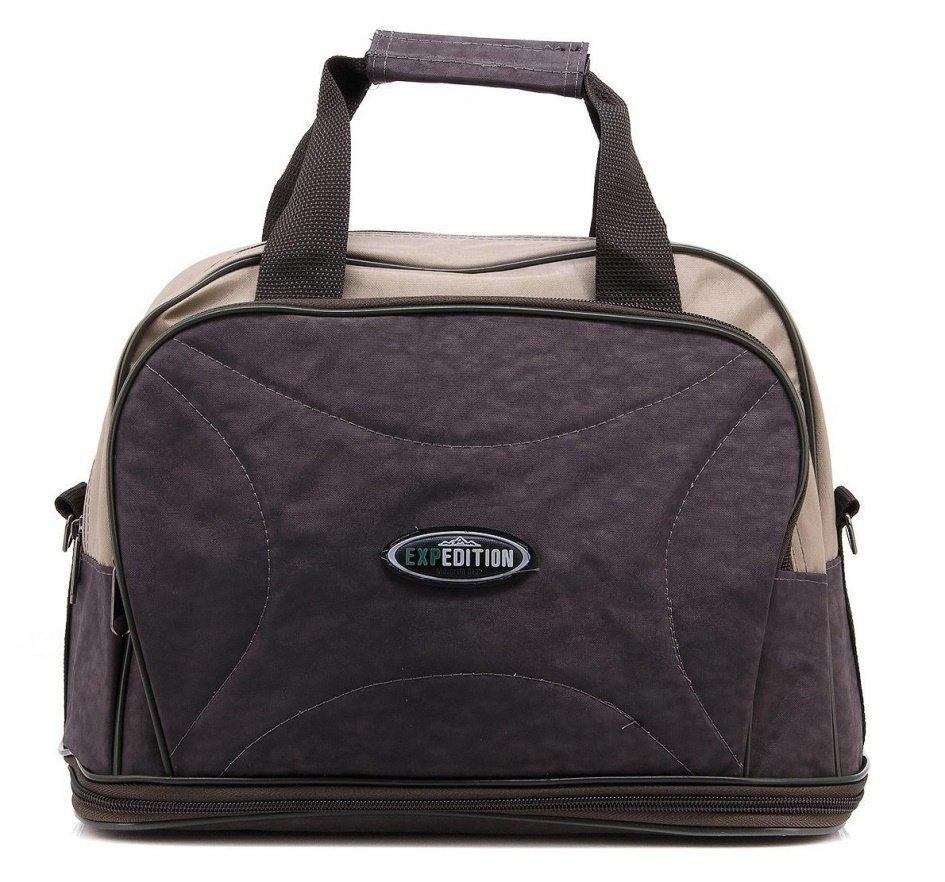 Дорожная сумка с функцией расширения дна - фотография