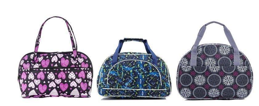 Дорожные сумки с ультрастильными принтами - фотография