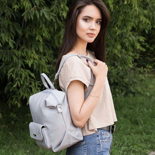 Инстаграмм серый рюкзак