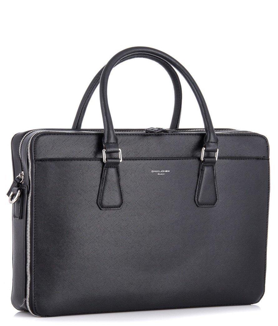 Деловая - сумка черного цвета - фотография