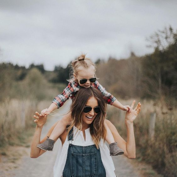 Фотография мамы с ребенком