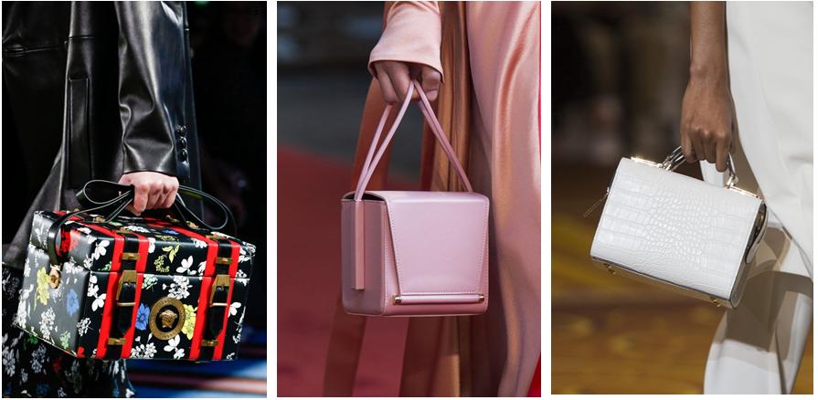 Сундучки и квадратные сумки - фотография