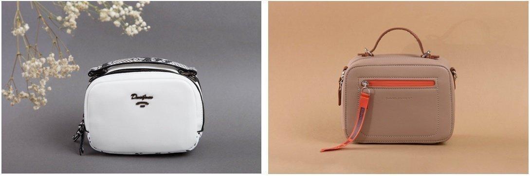 Белые и бежевые цвета сумок на лето - фотография