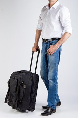 Мужские чемоданы