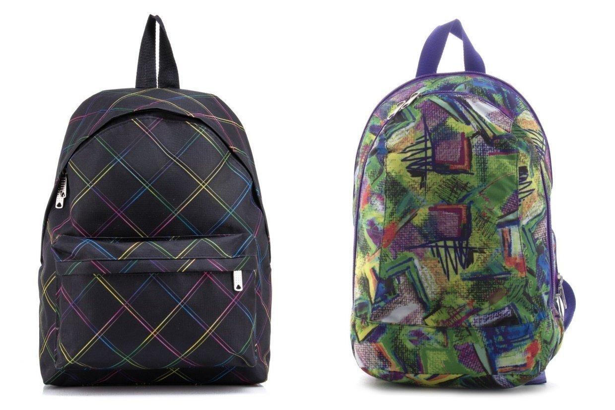 Спортивный рюкзак из текстиля и полиэстера - фотография