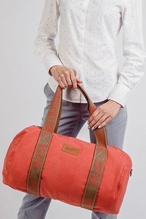 Дорожная сумка из винилискожи - фотография