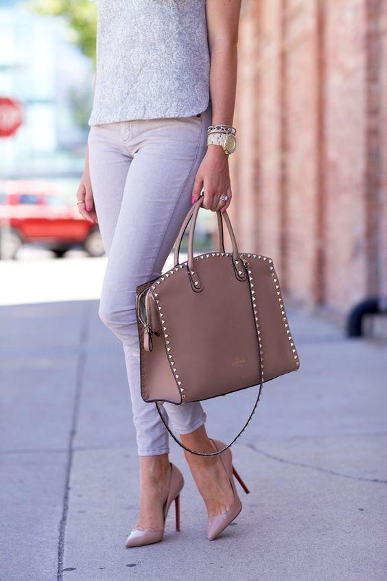 Классическая деловая - сумка - фотография