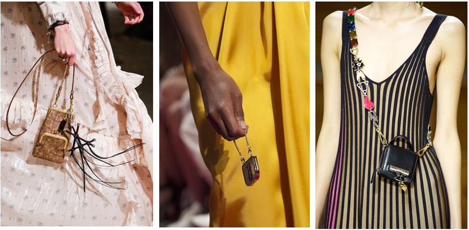 Миниатюрные сумки-аксессуары весна - лето - фотография
